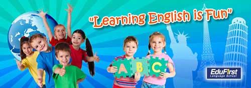 คอร์สเรียนภาษาอังกฤษเด็กอนุบาล เด็กประถม - โรงเรียนสอนภาษาอังกฤษเด็ก EduFirst