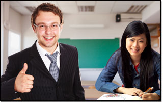 Private English Lessons for Adult, One-on-one English course for adults, age 15 and over. EduFirst Language School