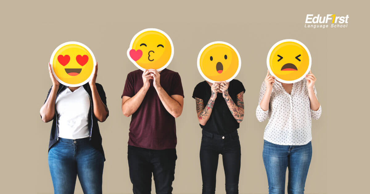 เรียนภาษาอังกฤษ บอกความรู้สึก ในชีวิตประจำวัน Feeling Emotion - โรงเรียนสอนภาษาอังกฤษ EduFirst