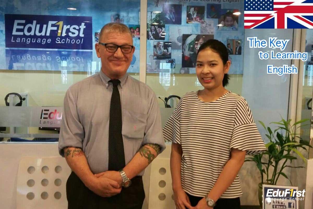 คอร์สเรียนสนทนาภาษาอังกฤษ ตัวต่อตัว General Conversation English Private พูดภาษาอังกฤษเก่งเร็ว - โรงเรียนสอนภาษาอังกฤษ EduFirst
