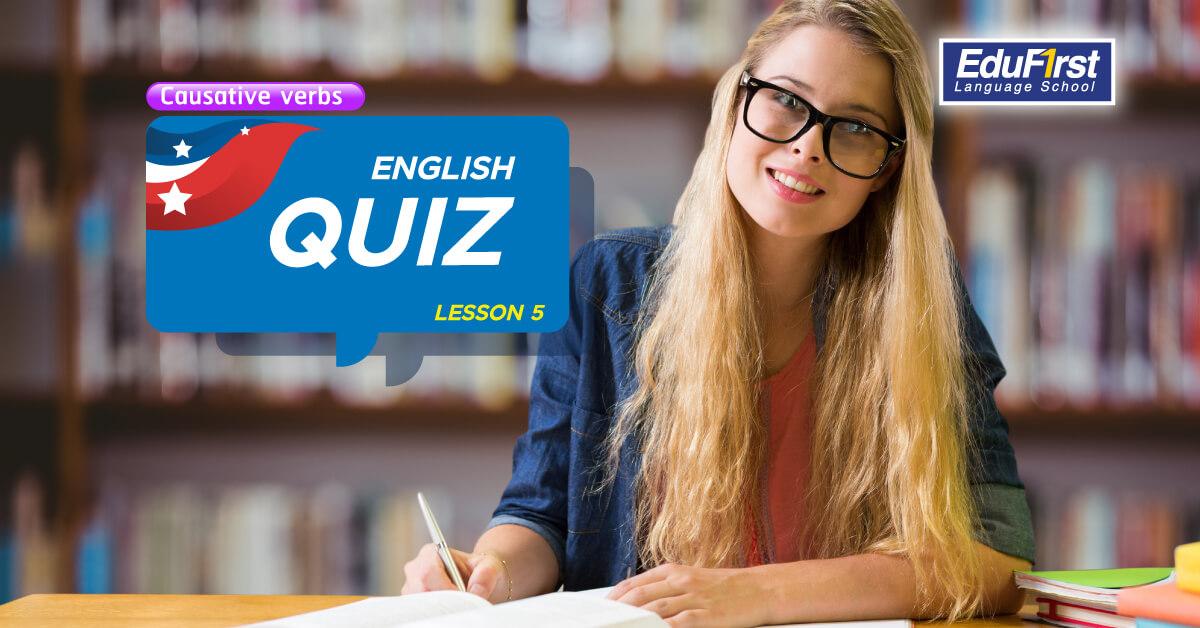 แบบทดสอบภาษาอังกฤษ ตอนที่ 5 (English Quiz Lesson 5)