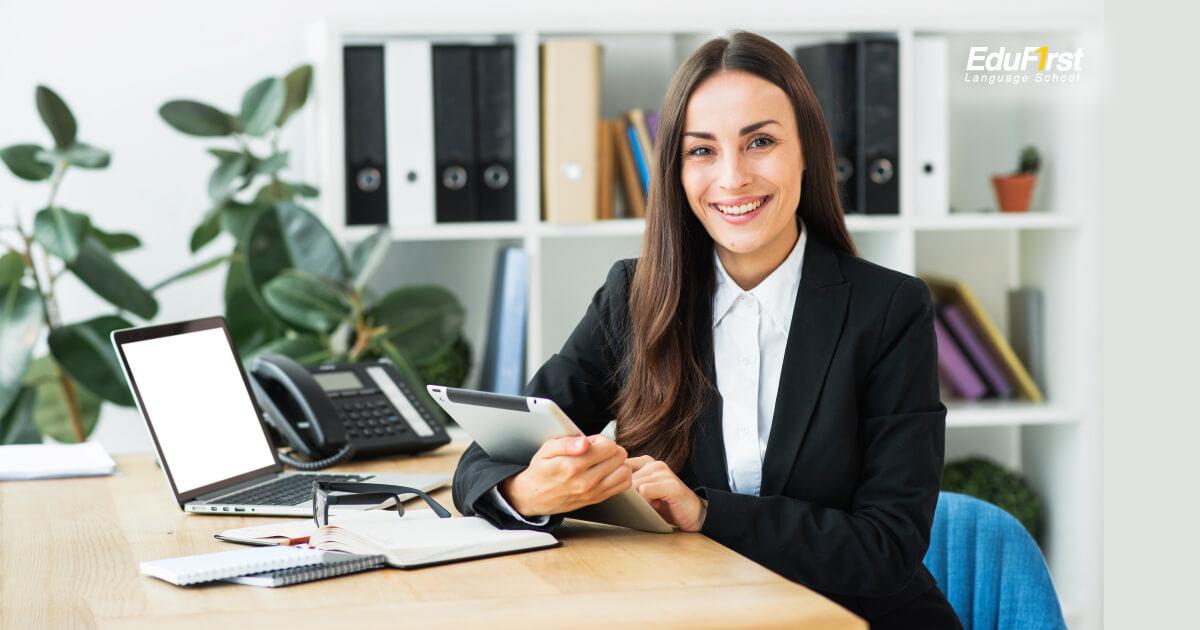 เรียนภาษาอังกฤษเชิงธุรกิจ Bussiness English การเขียน email ภาษาอังกฤษธุรกิจ - เรียนเขียนภาษาอังกฤษ EduFirst