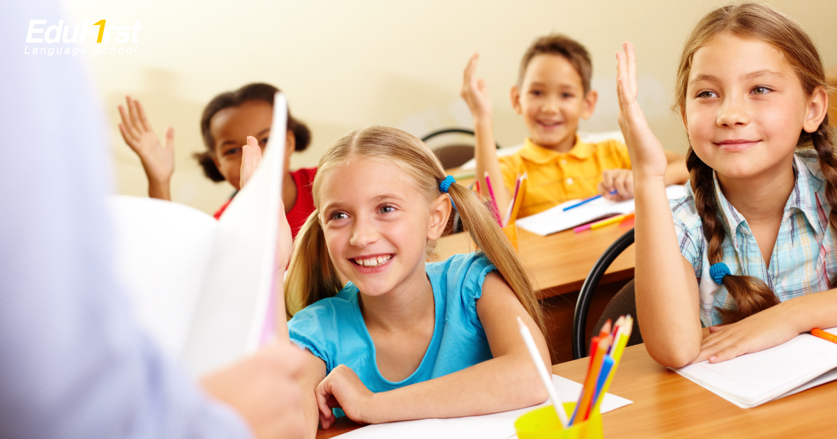 เรียนภาษาอังกฤษเด็ก ดีอย่างไร? เหตุผลที่ เด็กประถมต้องเรียนภาษาอังกฤษ - โรงเรียนสอนภาษาอังกฤษ EduFirst