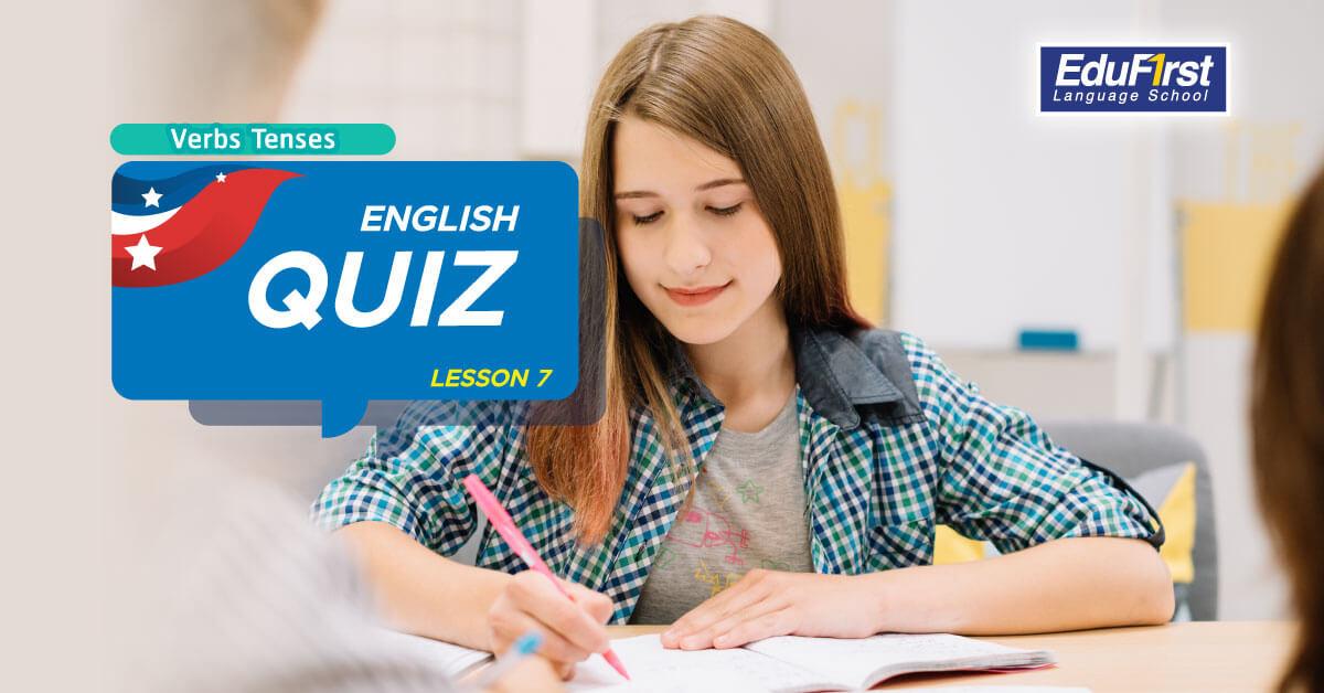 การเรียนรู้ Verbs Tenses ในภาษาอังกฤษ