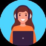 สอนสด 100% ฝึกพูดภาษาอังกฤษ ตัวต่อตัว ออนไลน์ ได้ทุกที่ ทุกเวลา