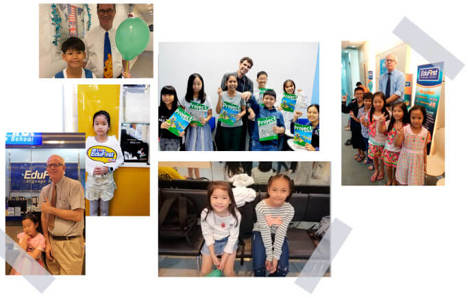 บรรยากาศ เรียนภาษาอังกฤษสำหรับเด็ก ที่สถาบัน EduFirst