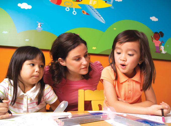 คอร์สภาษาอังกฤษสำหรับเด็กเล็ก อายุ 5 – 10 ปี (HIGH FLYER COURSE)
