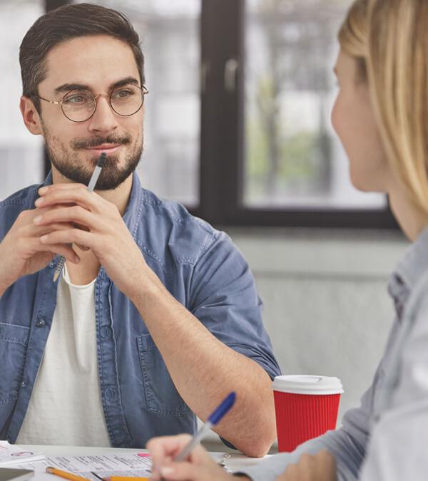 บทสนทนาภาษาอังกฤษในการทำงาน คุณสามารถถามภาษาอังกฤษกับเพื่อนร่วมงานหากคุณไม่เข้าใจ