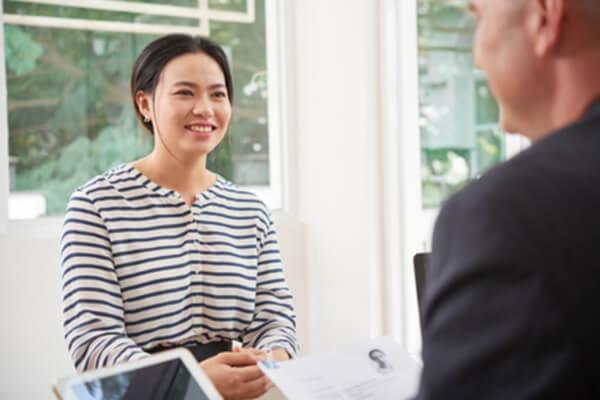 เรียนภาษาอังกฤษ บทสัมภาษณ์งานภาษาอังกฤษ การตอบคำถามของผู้สมัครงาน
