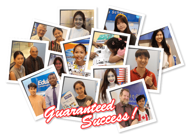 เรียนภาษาอังกฤษตัวต่อตัว พร้อมการันตี ความสำเร็จ (Guaranteed Success)