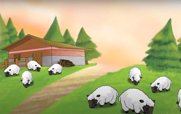 นิทานอีสปภาษาอังกฤษ เด็กเลี้ยงแกะกับหมาป่า (The Shepherd's Boy and the Wolf) - เรียนภาษาอังกฤษ สำหรับเด็ก จากนิทานภาษาอังกฤษสั้นๆ