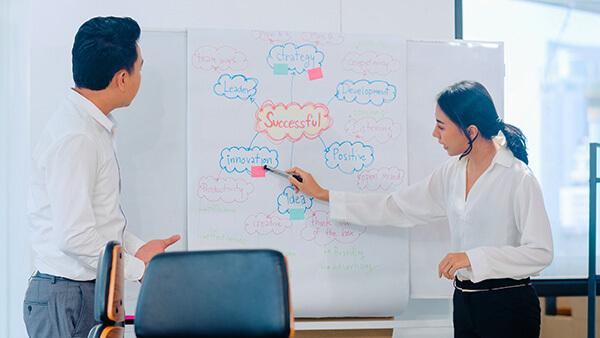 การพรีเซนต์งานเป็นภาษาอังกฤษ บอกหัวข้อ เรื่องที่จะพูด - เรียนภาษาอังกฤษ วัยทำงาน ที่ไหนดี? โรงเรียนภาษาอังกฤษ EduFirst