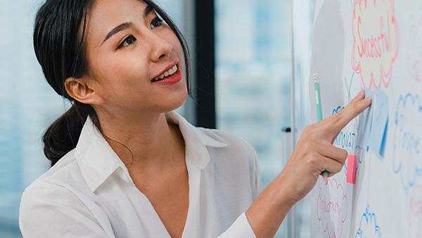 การพรีเซนต์งานเป็นภาษาอังกฤษ เริ่มต้นนำเสนองานภาษาอังกฤษ - เรียนภาษาอังกฤษ พนักงาน บริษัท สถาบันเรียนภาษาอังกฤษ EduFirst
