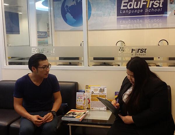 เรียนแกรมม่า ที่ไหนดี? รีวิวคอร์สเรียน Grammar ภาษาอังกฤษ สถาบันสอนภาษา EduFirst