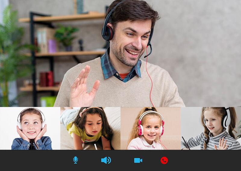 คอร์สเรียนภาษาอังกฤษออนไลน์สำหรับเด็ก แบบกลุ่ม สอนโดยครูเจ้าของภาษา Native Teacher เรียนสนุก พร้อมรับรับรองผล